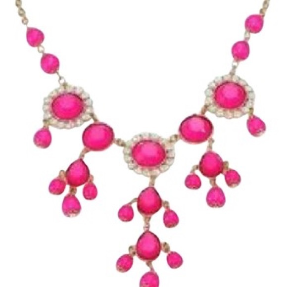 Lilly Pulitzer Pink Statement Necklace